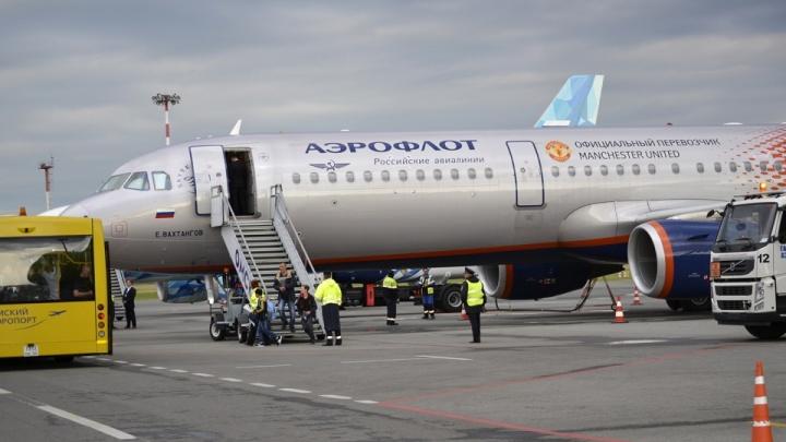 Самолёт из Москвы, развернувшийся над Нижним Новгородом, выполнял учебный полёт