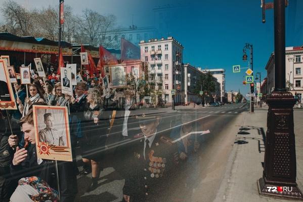 Еще прошлой весной мы с вами шли по центральной улице с портретами родных, в этом году — Республики пуста