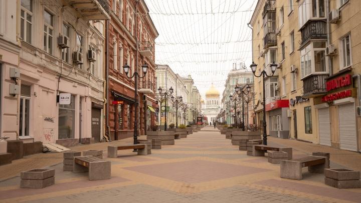 Ростов-на-Дому: 20 фотографий опустевшего города