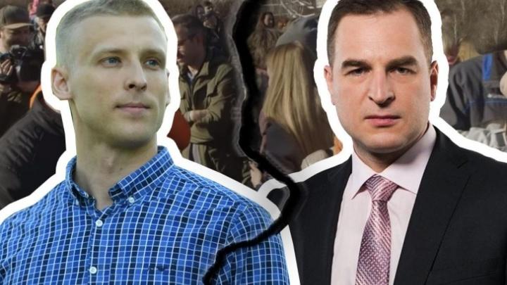 Экспертиза показала, что Румянцев сильно преувеличил тяжесть полученных в сквере травм