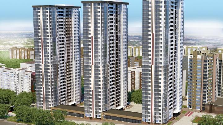 Появились эскизы 32-этажных домов, которые хотят построить на Антонова-Овсеенко