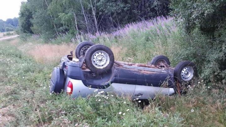 В Прикамье мужчина без прав сел за руль и погиб в ДТП