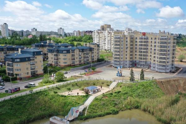 Пять жилых комплексов изменили облик города в лучшую сторону