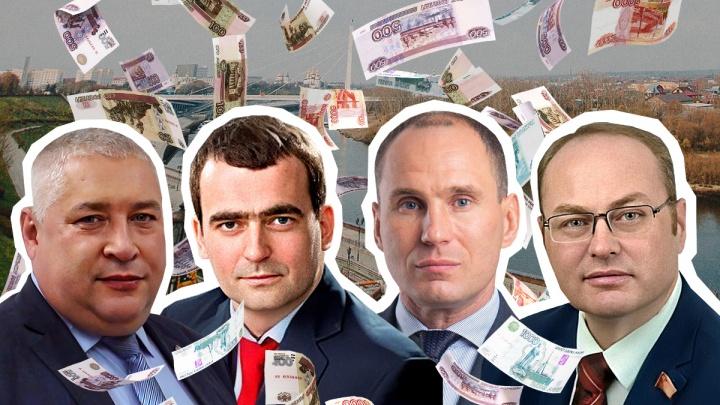 Долги на сотни рублей, но миллионные доходы. Кто из тюменских депутатов задолжал судебным приставам