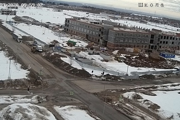 Стоп-кадр с камер видеонаблюдения