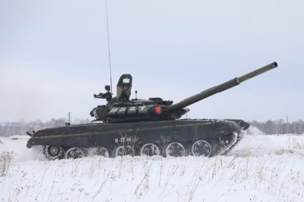 Танк Т-72Б3М является модернизацией танка Т-72