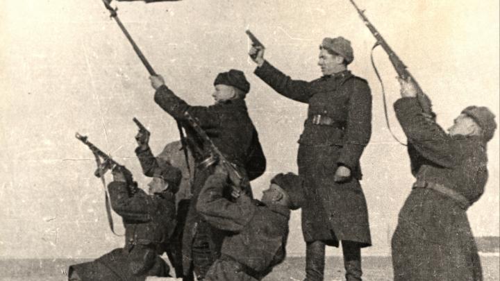 Горящий Берлин и бочка пива за Победу в Архангельске: смотрим архивные фотографии времен войны