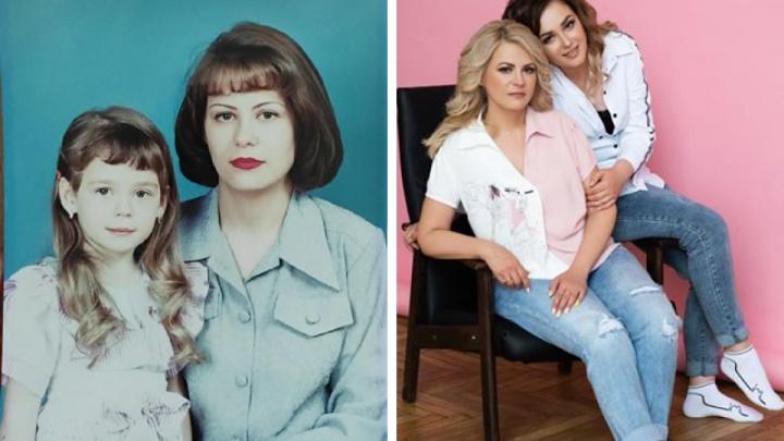 Не узнать: 10 впечатляющих фотографий, как люди меняются с возрастом (новосибирцы в юности и сейчас)