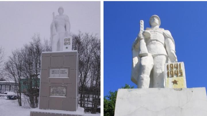 «Плакать хочется»: архангелогородец — о ремонте памятника героям ВОВ на Хабарке