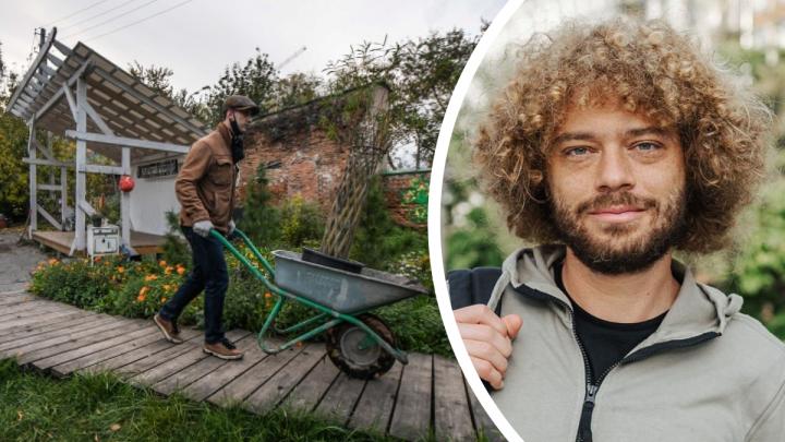 «Cмогли за три года из выжженной земли сделать сад»: Илья Варламов — об уральских волонтерах