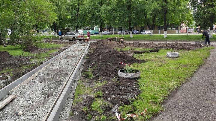 Новый асфальт и красивые газоны: как изменятся мини-скверы на Ленина в Кемерово