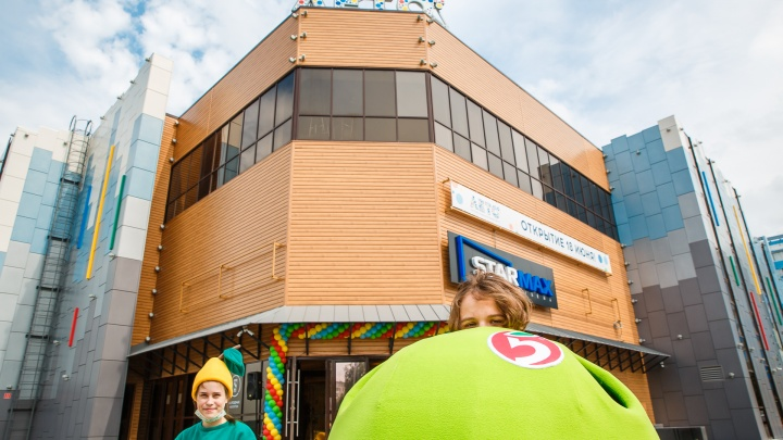 В Кемерово открыли ТРЦ «Лето». Показываем, как это было