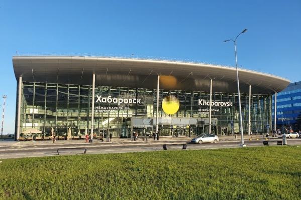 Самолет сел в Хабаровске сегодня утром