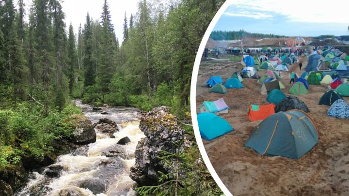 В Коми обсуждают создание лагеря по типу Шиеса: люди против добычи золота в нацпарке