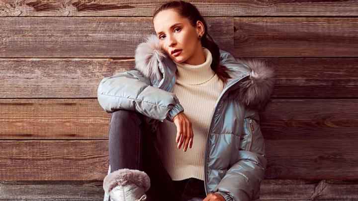 Парки с ветрозащитой и блестящие фактуры: Geox удивил новой коллекцией одежды