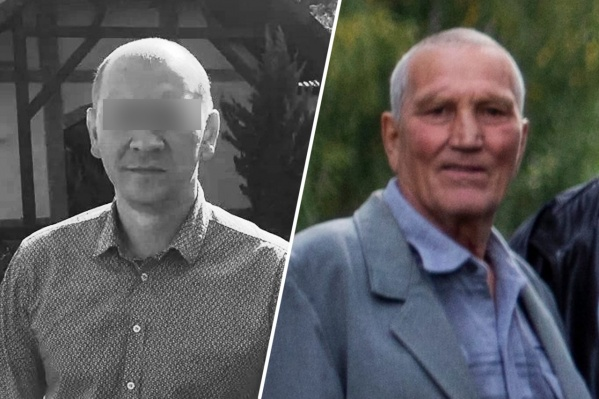 Слева — убитый 40-летний Анатолий. Справа — 76-летний Валентин Останин, которого сейчас обвиняют в нападении