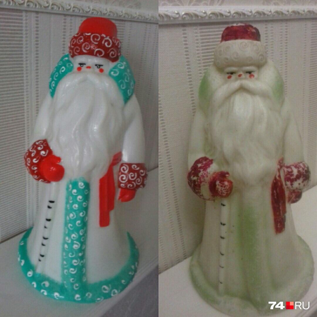 Старичком в бело-зеленом кафтане Ольга решила поделиться с другими коллекционерами