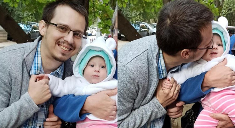 У Марченко осталась полугодовалая дочь. Это их последний снимок