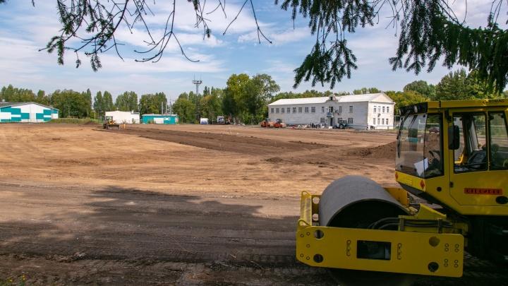 В Самаре на стадионе «Салют» сделают газон по нормам FIFA