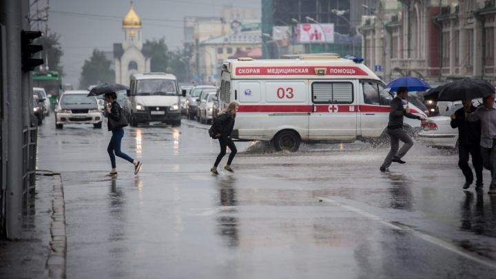 Синоптики рассказали, когда на Новосибирск обрушатся грозовые дожди