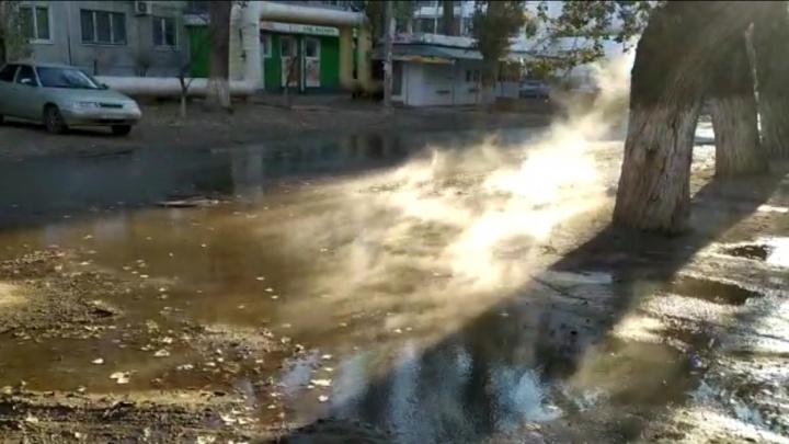 «Радиаторы уже начали остывать»: поселок Ангарский в Волгограде заливают реки кипятка