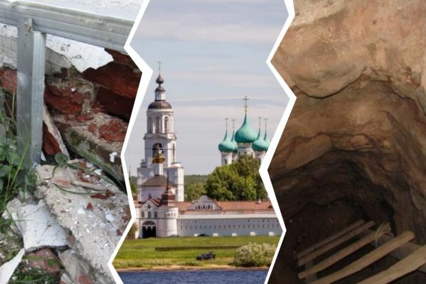 Аукционы на реставрацию храмового комплекса появились на сайте госзакупок