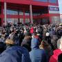 В Башкирии горожане, желая выиграть автомобиль, устроили настоящую давку