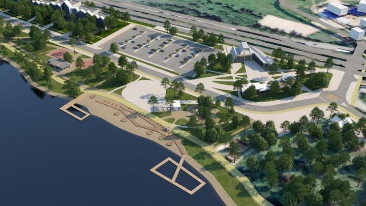 Архитекторы представили вариант обновления Шарташского лесопарка