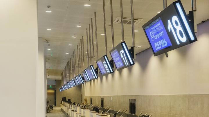 Две авиакомпании начнут прямые перелеты из Перми в Анапу