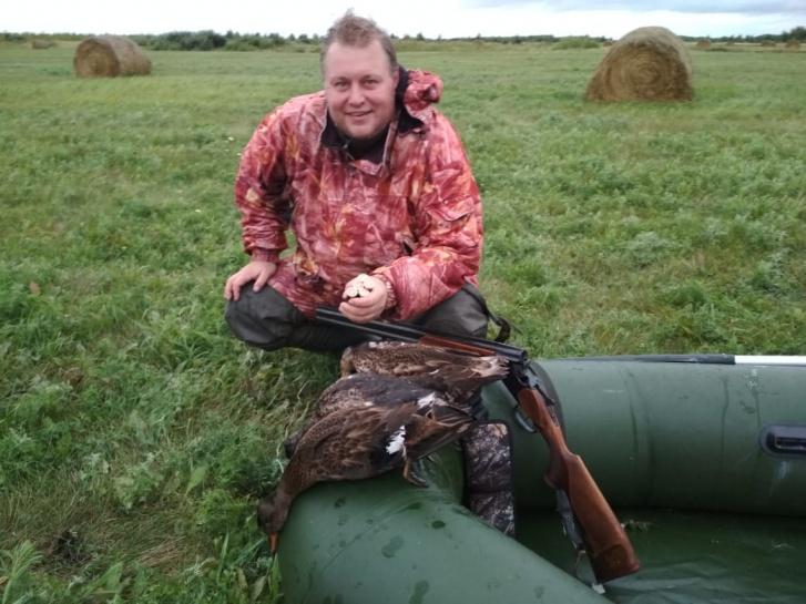 Алексей уже много лет увлекается охотой