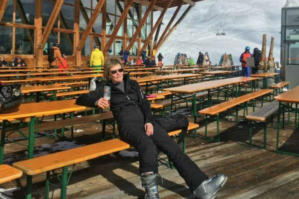Ирина отдыхала в Австрии