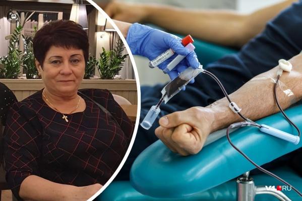 62-летняя волгоградка лежит в больнице Красноармейского района