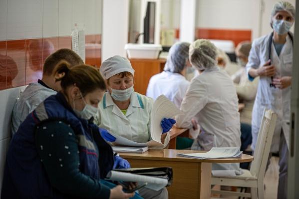 За всё время в регионе зарегистрировано 1300 случаевзаражения коронавирусом