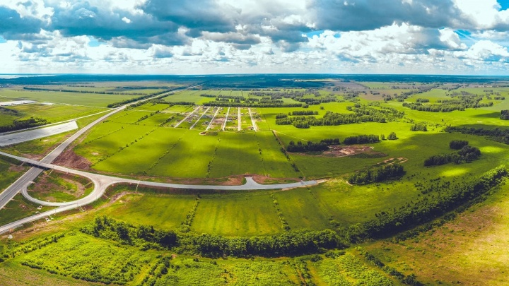 Дорожают с каждым годом: новосибирцы раскупают землю в поселке, где сейчас участки по стартовой цене