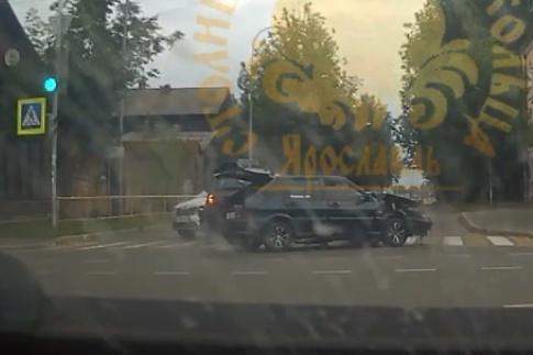 ДТП произошло на пересеченииулиц Герцена и Румянцевской