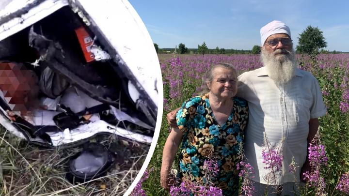 Авария с залетевшей под фуру «Ладой», где погибли врачи из Челябинской области, попала на видео