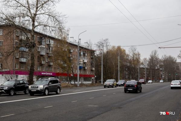 В мэрии Ярославля уже даже не озвучивают примерных дат финальной приемки улицы после ремонта