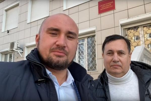 Адвокаты Шамсутдинова Руслан Нагиев и Равиль Тугушев