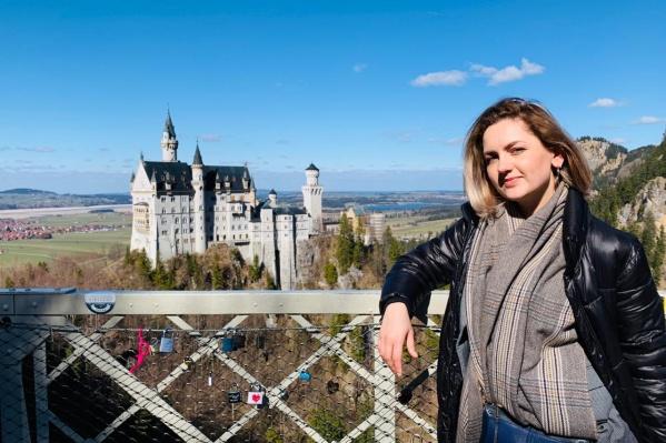 Екатерина Трубачева несколько лет живет в Германии<br>