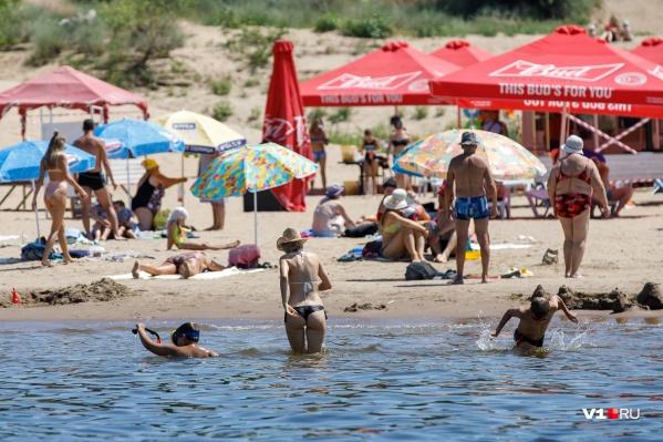 На выходных горожане могут смело планировать поездку на пляж