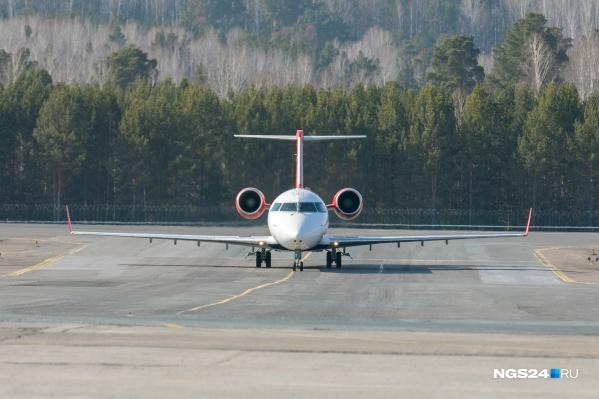 Из Красноярска начнут летать самолеты по новым направлениям