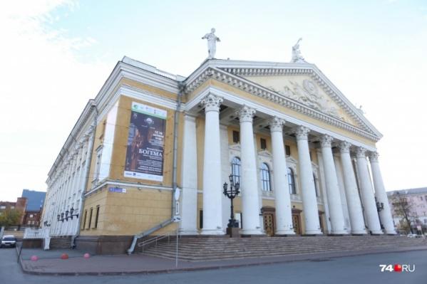 В театре оперы и балета сломался пожарный занавес