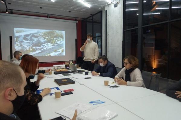 Проект представил главный архитектор проекта реконструкции Фабрики-кухни Виталий Стадников