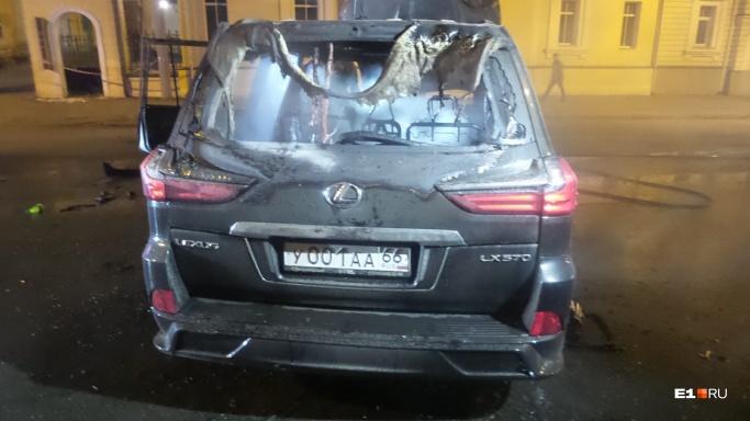 Водителю Lexus с блатными номерами после смертельного ДТП предъявили обвинение прямо в больнице