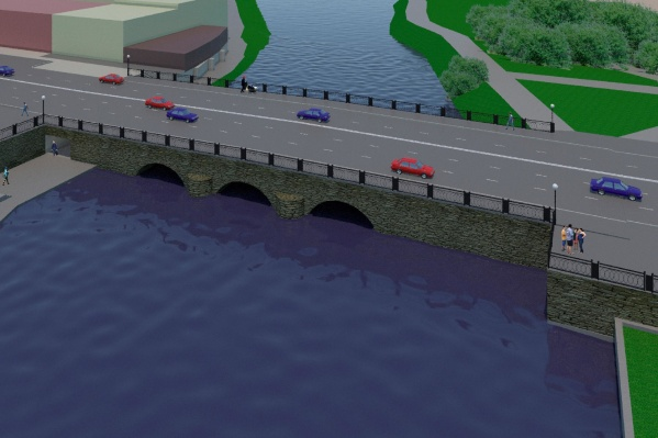 Мост станет пятиполосным