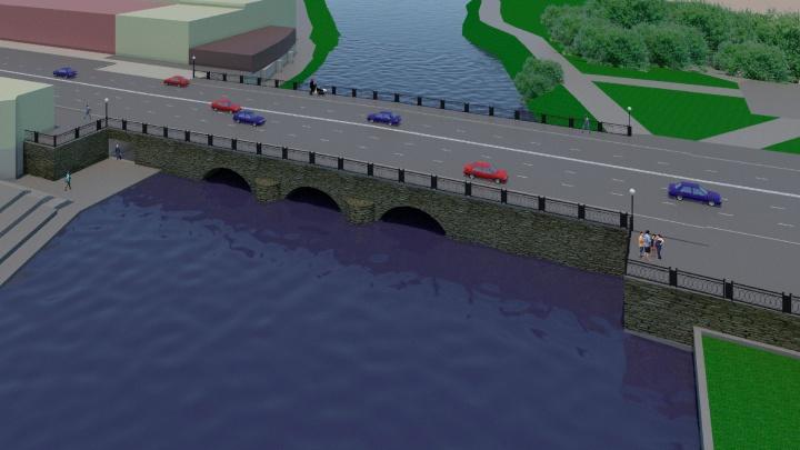 Мост через Исеть на Малышева станет пятиполосным, а под ним появится подземный переход