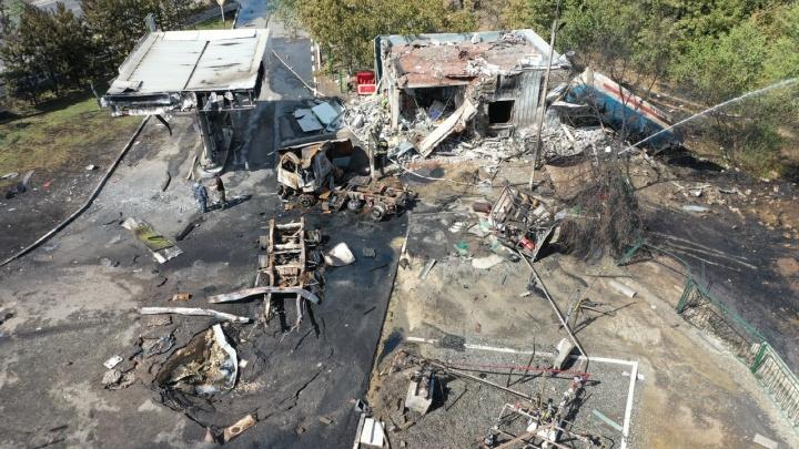 Названа предварительная причина взрыва и пожара на АЗС в Волгограде