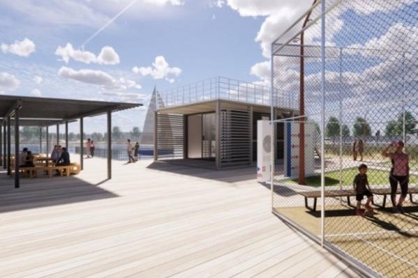Один из победивших проектов — оздоровительный комплекс в Карасуке