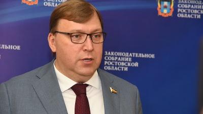 Спикер донского парламента Ищенко заразился коронавирусом