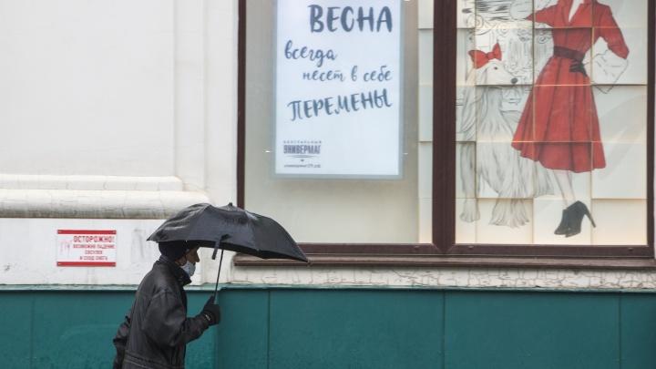 За окном то дождь, то снег: как Архангельск сегодня переживал непогоду — фото